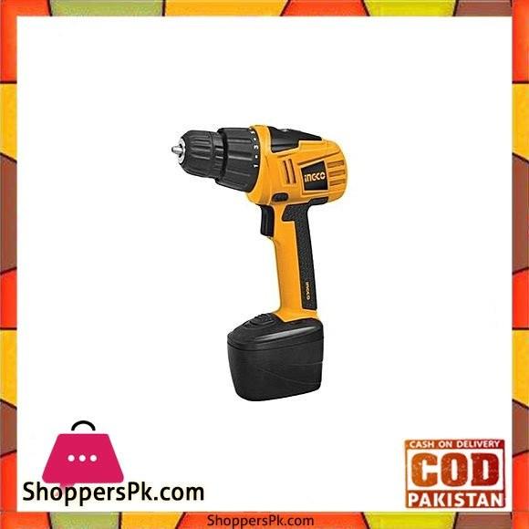 Ingco Cordless Drill Machine 18 Volts