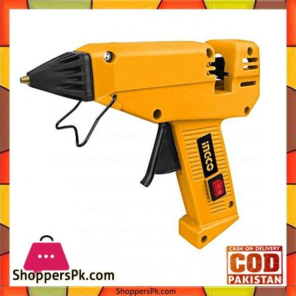 Ingco Electric Glue Gun - 220W - Yellow
