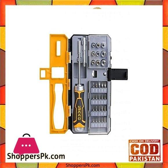 Ingco Offset Ring Spanner Set - 8 Pcs