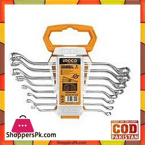 Ingco Offset Ring Spanner Set