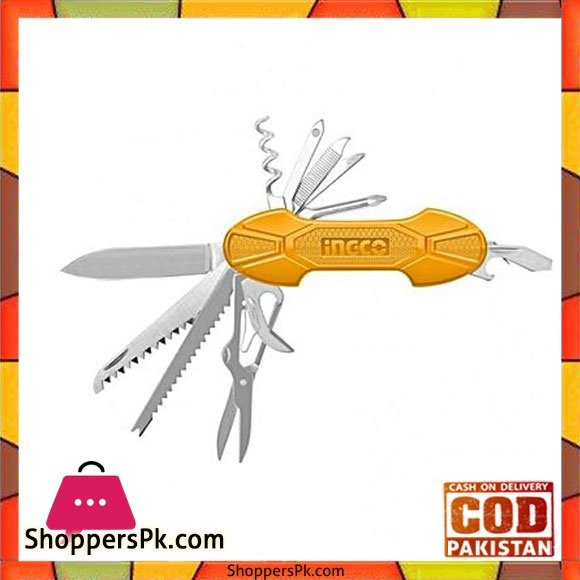 Ingco Pocket Knife with 14 Functions