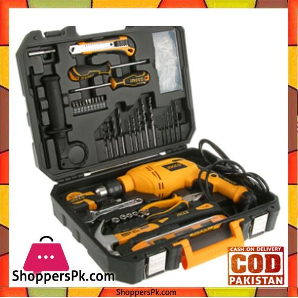 Ingco Professional Tool Set - 101Pcs - Black & Yellow - HKTHP11021