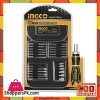 Ingco Screwdriver Bit Set - 26 Pcs - Black & Silver