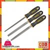 Ingco Steel File Set - 3 Pcs - Black & Silver