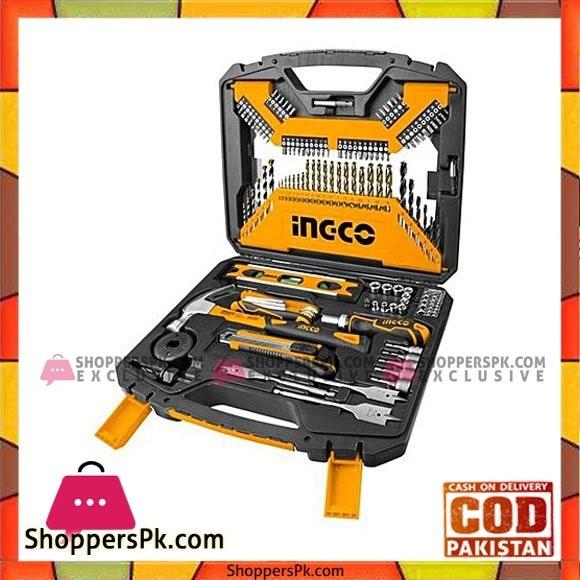 Ingco Tools Accessories Set - 120 Pieces