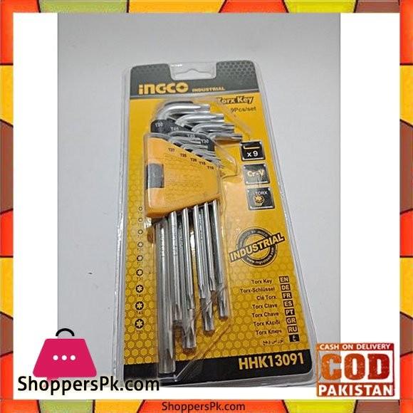 Ingco Torx Key Set-9pcs