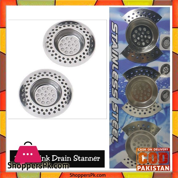 Kitchen Sink Strainer Stainless Steel 3 Pcs