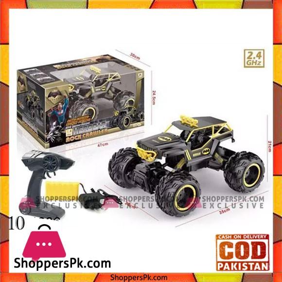 Large Rock Crawler RC Car 12 Inches Long 4 x 4 Remote Control Car For Kids Hero Car Rock Crawler 010