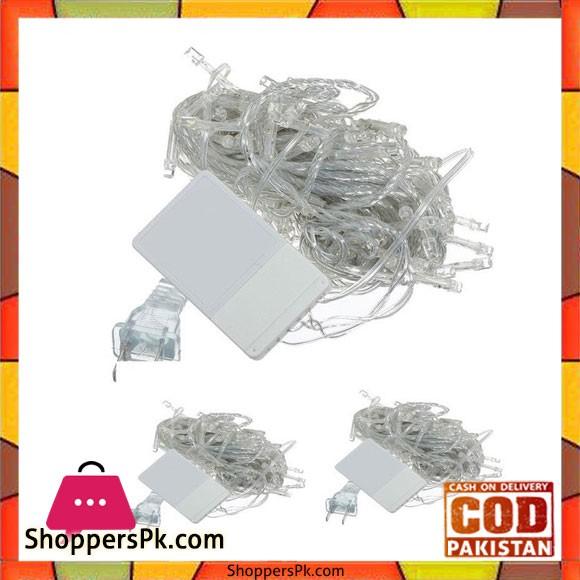 Pack Of 3 Led Fairy Lights - White