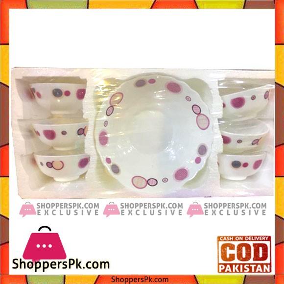 Porcelain Soup Set 7 Pieces M31
