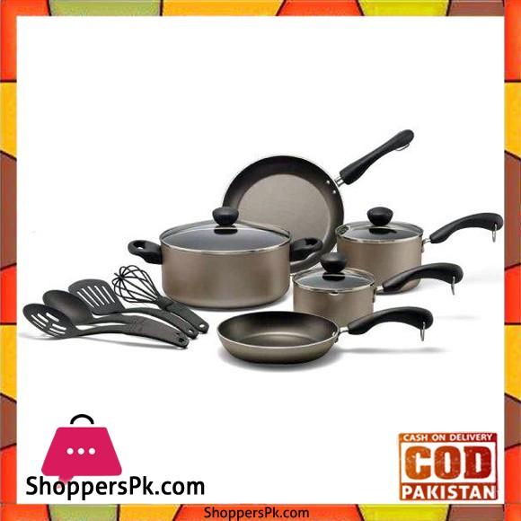 Prestige 12 Pieces Non Stick Cooking Set 20345