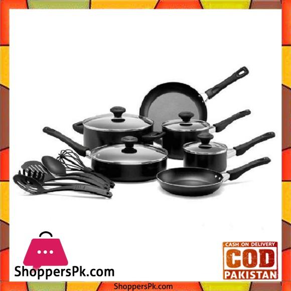 Prestige 15 Pieces Non-Stick Cooking Set 20344