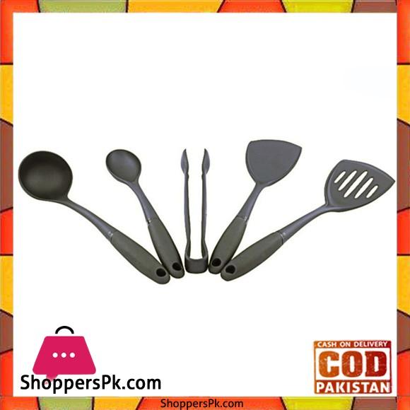 Prestige 5 Pieces Non-Stick Cooking Spoon Set