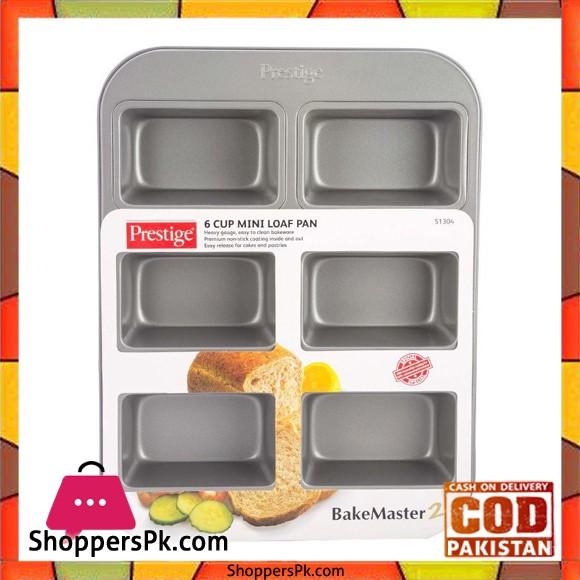 Prestige 6 Cup Mini Loaf Pan