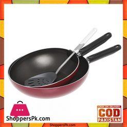 Prestige Classique 2 Pcs Wokpan With Spoon 21014