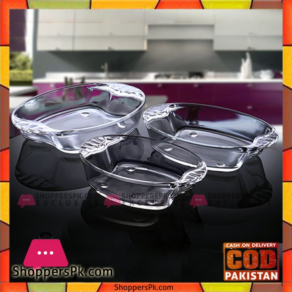 Primex Family Set Dish 3 Piece