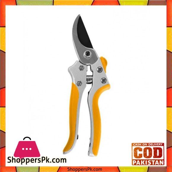 Pruning Shear Garden Tool 200 mm - Yellow