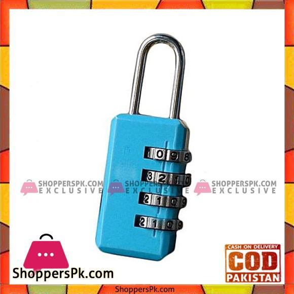 Resetable Code Padlock - Blue