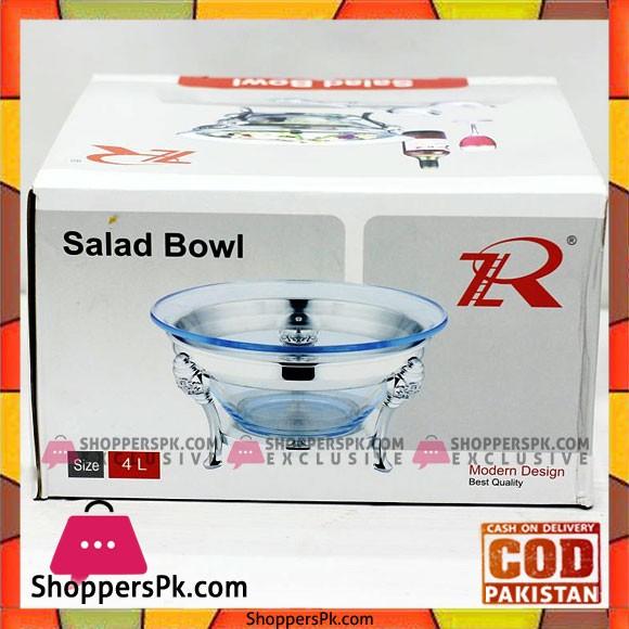 Royal Best Quality Salad Bowl 4 Liter