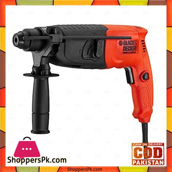 SDS + Rotary Hammer 20Mm In Kit Box BPHR202K - Black and Red