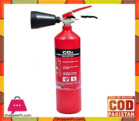 Safety Fire Extinguishers CO2 2 kg