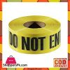 Safety Gadgets Do Not Enter Tape