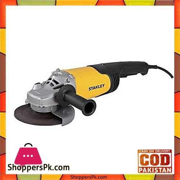Stanley Stgl2018 2000W 180Mm Angle Grinder-Yellow & Black