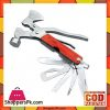 Super Light 7 In Multi-Function Outdoor Camping Knife Opener Screwdriver Kit - Silver