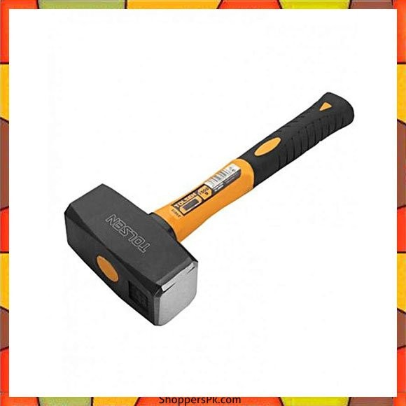 Tolsen Hammer 1500g - Yellow & Black