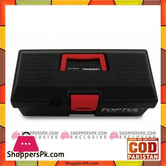 Tool Box Plastic Empty 556X278X270 TBAE0401 - Green