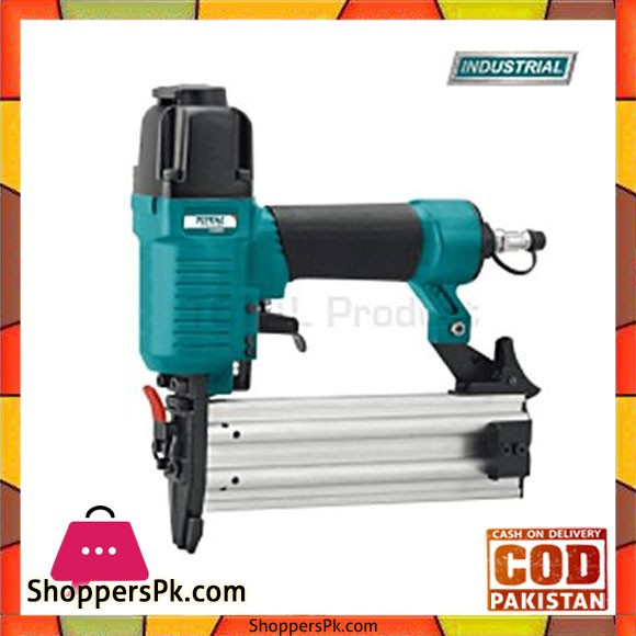 Total Tat83501 Brad Nailer 15-50Mm-Green & Black