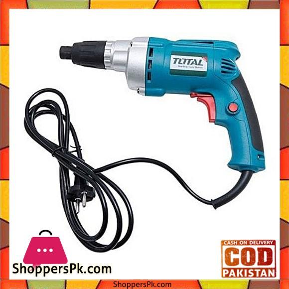 Total Td2561 Drywall Screw Driver 550W-Blue