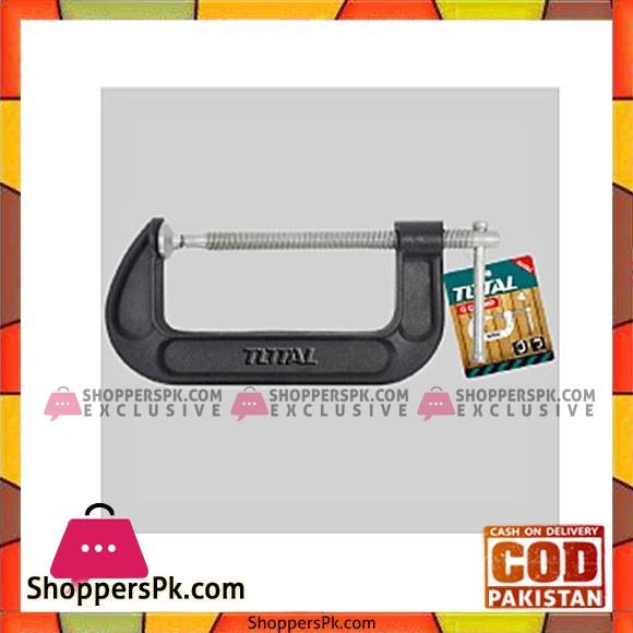 Total Tht13141 G Clamp 4''-Black