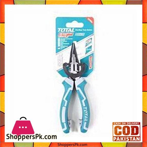Total Tht220606S High Leverage Long Nose Plier 6''-Blue