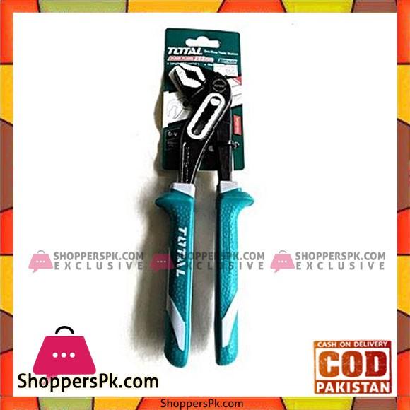Total Tht281006 Pump Plier 10''-Sea Green