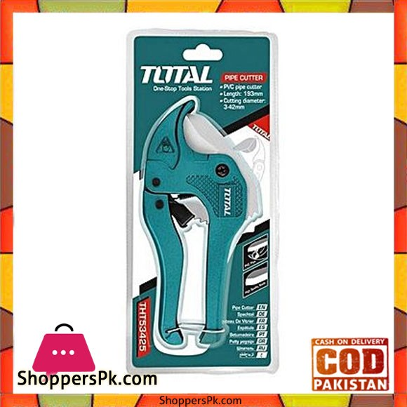 Total Tht53425 Pvc Pipe Cutter-Green