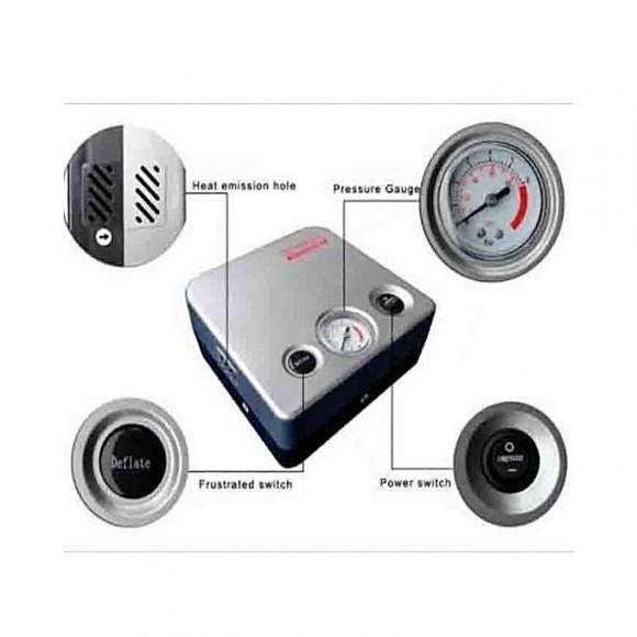 Toyota Toyota 12 Volt 2 in 1 Inflator/Deflator Portable Car Air Pump/Compressor