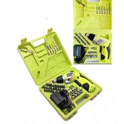 Prescott Cordless Screwdriver Machine With 44 Pcs Accessories