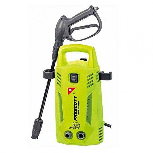 Prescott Electric Car Washer With Foam Spray - 800W - Green