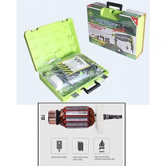 Prescott Rotary Hammer LTE Drill 750W - 26mm
