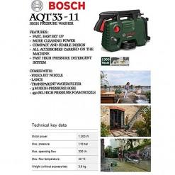 Bosch Aqt 33-11 - High-Pressure Washer - Green