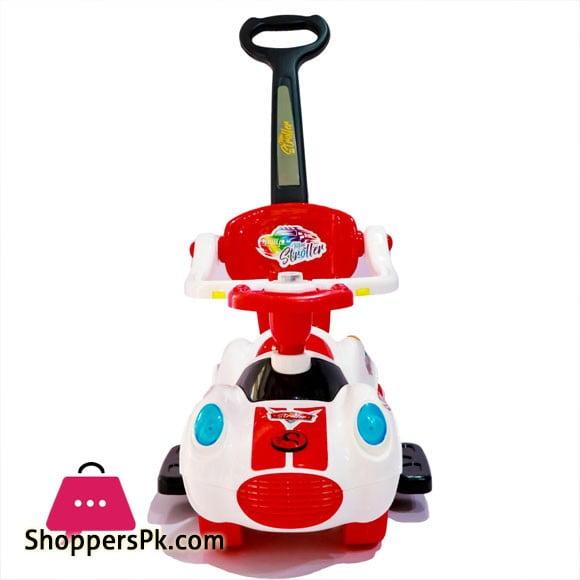 3-In-1 Mini Stroller Push Car Ride On Toy