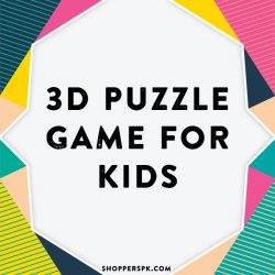 3D Puzzle Game for Kids