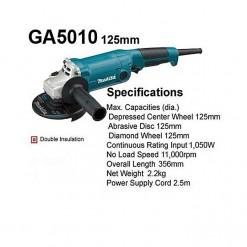 MAKITA Makita Angle Grinder - 125mm - GA5010 - Blue