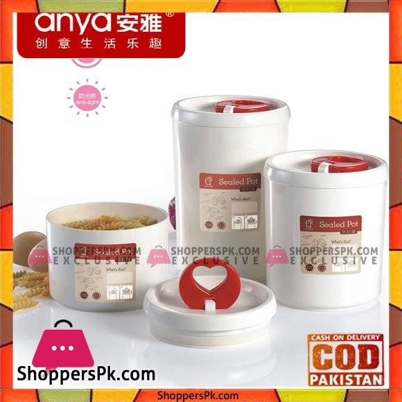 Powder Sealed Cans Moisture Resistant Milk Powder Jar Baby Food Supplement Box Of Milk Box Food Storage Pot Seal Box