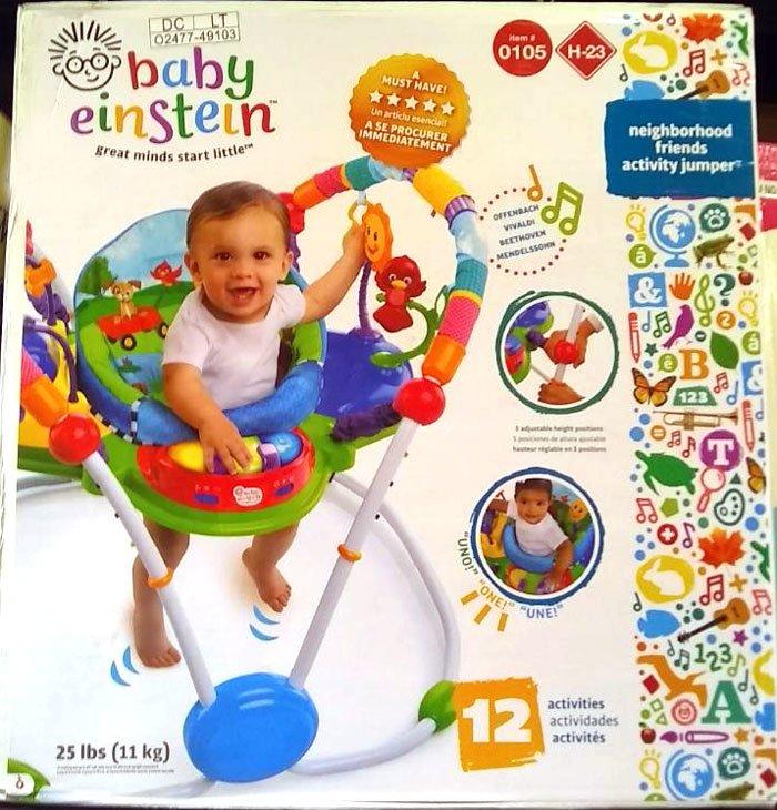 Buy Baby Einstein Activity Jumper Neighborhood Friends At