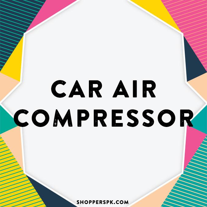 Car Air Compressor in Pakistan