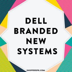 Dell Branded New Systems