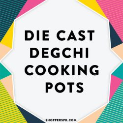 Die Cast Degchi Cooking Pots