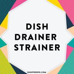 Dish Drainer & Strainer